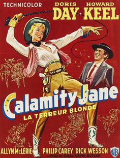 Calamity Jane / カラミティ・ジェーン (1953) French poster