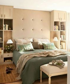 Ideas que mejoran tu vida & overhead bed storage units - Google Search | Home Design | Pinterest ...