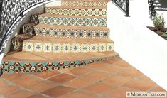 Mexican Tile - 16x16 Spanish Mission Red Terracotta Floor Tile