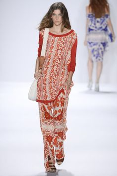 White and red print at Rebecca Minkoff #NYFW 2013 #summer #fashion
