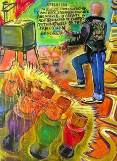 Painting, Visual Artist, Painter, Visual