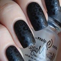 Matte Magic....this is the polish you want for black nail trending