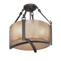 Troy Lighting C1740ABZ 3 Light Austin SemiFlush Semi Flush Ceiling Light, Antique Bronze This Troy Lighting product comes in an antique bronze finish.