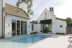 Belle Meade — Rachel Halvorson Designs Home Design Decor, Patio Design, House Design, Design Ideas, Studios Architecture, Belgian Style, Cottage House Plans, Pool Designs, Beautiful Homes