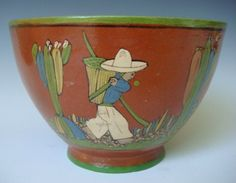 Vintage bowl from the 1940s!    http://www.mexicana-nirvana.com/catalog/item/7703673/8271710.htm