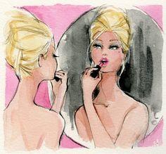 Robert Best Barbie Print