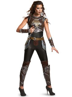 Check out Warcraft Women's Garona Prestige Costume - Wholesale TV and Movie…