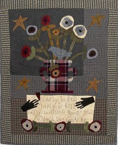 """Pattern is by Cheri Saffiote-Payne of """"Wednesday's Quilts"""""""