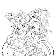 Winx Club Coloring Pages | Coloring Pages | Coloring Pages for kids ...