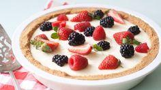 No-bake Lemon Berry Pie