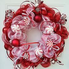 how to make deco mesh wreaths - Google Search