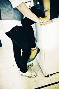 Engagements on a washing machine
