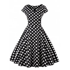 SHARE & Get it FREE | Robe imprimée en polka Dot rétroFor Fashion Lovers only:80,000+ Items·FREE SHIPPING Join Dresslily: Get YOUR $50 NOW!