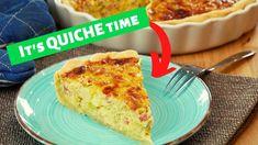 Schinken-Lauch-Quiche selber machen - Rezept von Kochschwabe French Toast, Breakfast, Youtube, Food, Grated Cheese, Browning, Leek Quiche, Ham, Oven
