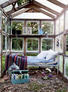 outdoor rooms and backyard ideas, outdoor bedroom decorating ideas Outdoor Bedroom, Outdoor Rooms, Outdoor Living, Outdoor Decor, Indoor Outdoor, Outdoor Daybed, Garden Bedroom, Outdoor Art, Small Room Design