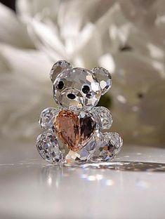 Swarovski SWAROVSKI KRIS BEAR - 2007 FROM THE HEART (LIMITED EDITION) 833420 | Swarovski Crystal