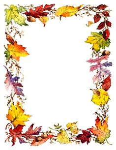 Fall decorations - Mac and cheese Borders For Paper, Borders And Frames, Fall Paper Crafts, Fall Clip Art, Blog Backgrounds, Birthday Frames, Quilt Labels, Decorative Borders, Paper Frames