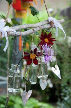 Creatief met zomerbloeiers