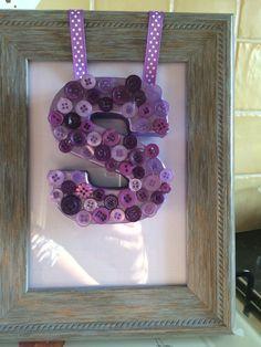 DIY 3D Initial Frame Tutorial   DIY Mother's Day Gift ...