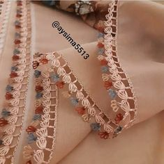 Thread Art, Needle And Thread, Tatting Lace, Needle Lace, Needlework, Embroidery Designs, Crochet Necklace, Boutique, Fabric