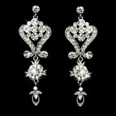 Camilla Silver Chandelier Earrings