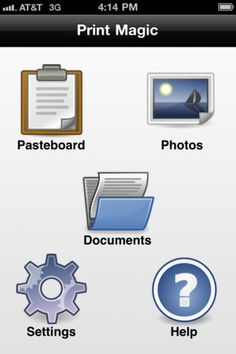 Print Magic allows you to print from your iPhone 4 on iOS 5. (Be sure to download the PC app needed to enable this, AND to enable Share on your printer configuration.) $1