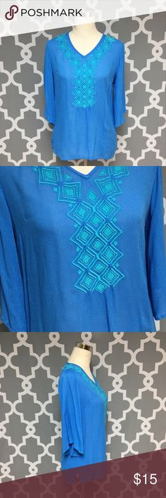 Lilly for Target Blue Embroidered Blouse : A Lilly Pulitzer for Target Blue Embroidered Boho Peasant Blouse good used condition some pilling on front women's size xs Approximate measurements  ▪️Pit to Pit inches  ▪️Shoulder to Hem inches  Thank you for checking out my closet! Offers are always welcome or bundle for bigger savings. If you have any questions feel free to ask! Lilly Pulitzer for Target Tops