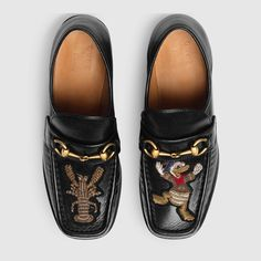 Donald Loafer - GUCCI x Donald Duck Capsule Collection - Disney Style Blog - Shoe