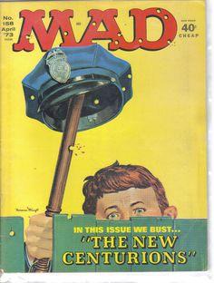Mad Magazine No.158 April 1973