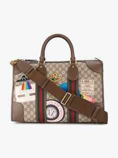 b91b4269cd04 GUCCI GUCCI COURRIER SOFT GG SUPREME DUFFLE BAG.  gucci  bags  leather