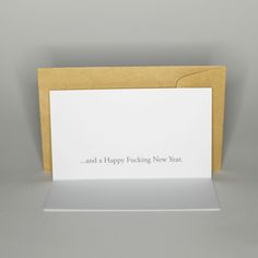 ...and a Happy Fucking New Year - celebration anniversary design wishing card - greetingcards and postcards