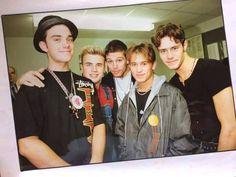 Jason Orange, Mark Owen, Gary Barlow, My Boys, Boy Bands, Take That, Retro, Overalls, Hearts
