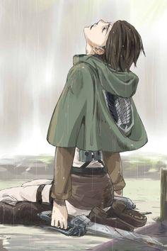 Eren Jaeger_Attack on Titan_Shingeki no kyojin Armin, Mikasa, Levi X Eren, Ereri, Levi Ackerman, Anime Guys, Manga Anime, Pokemon, Accel World