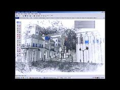 SketchUp and Photoshop Technique
