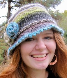 Free Knitting Pattern for Inspector Bucket Hat - This stylish bucket-style hat comes with versions for women and men. Direct pattern link is http://www.awin1.com/cread.php?awinaffid=234273&awinmid=6220&p=https%3A%2F%2Fwww.etsy.com%2Flisting%2F32880070%2Finspector-bucket-hat-pdf-pattern%3Fref%3Drelated-5 or you can see more brimmed hat patterns at http://intheloopknitting.com/hats-with-brims-knitting-patterns/