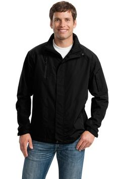 Buy the Port Authority All-Season II Jacket Style J304 from SweatShirtStation.com, on sale now for $58.98 #menscoats #mensjackets #promotionalclothing