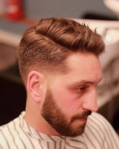 thegentlemanbarbers-side-part-hair-mens-hairstyles #menshairstylessidepart