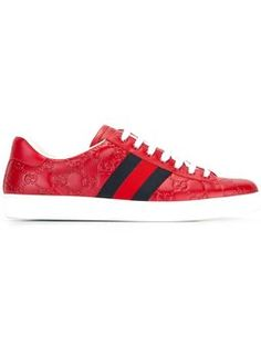best website 13c56 5f831 Ace sneakers Red Gucci Sneakers, Sneakers Fashion, Classic Sneakers, Men s  Sneakers, Gucci