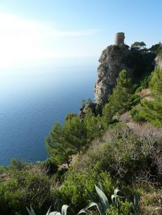 """Watch Tower -  protection for Pirates served this watch tower at Estellencs (north-west of Palma), this """"Torre de Ses Animes"""""""