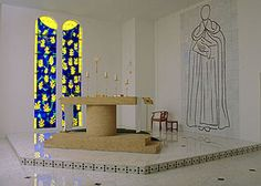 Henri Matisse Chapel of the Rosary in Vence France