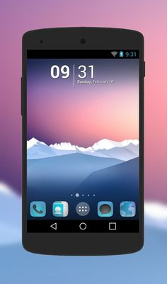 """Free Android Theme """"Elegance""""  http://androidlooks.com/theme/t1217-elegance/  #android, #themes, #customization, #holoLauncher"""