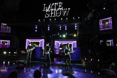 Fall Out Boy performing at The Late Show with Stephen Colbert, Jan 2018.  by Scott Kowalchyk