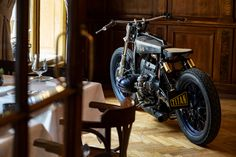 Stunning Sigrid: A most unusual BMW from Titan Custom Motorcycles, Custom Bikes, Cars And Motorcycles, Bmw Boxer, Motorcycle Workshop, Motorcycle Companies, Cafe Racer, Biker Girl, Go Kart