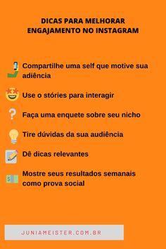 Pra mais dicas é só clicar no pin ...  www.juniameister.com.br Digital Marketing, Instagram