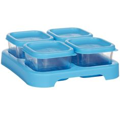 Sprouts 2 Ounce Baby Food Storage Cubes 4 Pack