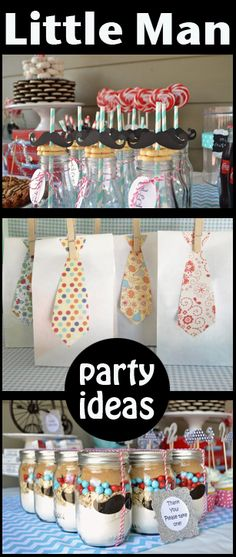 Mustache Bash Party Ideas- So cute! This would be adorable for a baby shower if you knew the baby was a boy.