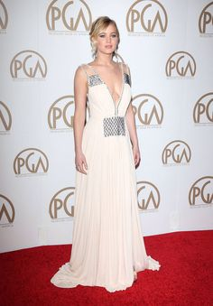 Jennifer Lawrence at the 26th annual Producers Guild of America Awards ceremony in Los Angeles, 2015.