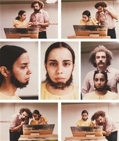 Ana Mendieta, Untitled (Facial Hair Transplants), 1972  Art Experience NYC: www.artexperiencenyc.com
