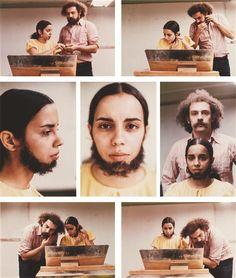 Ana Mendieta, Untitled (Facial Hair Transplants), 1972  Art Experience NYC: www.artexperiencenyc.com