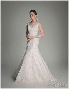 [웨딩드레스] ① 깊은 눈매와 서정적인 움직임, 세련된 웨딩드레스 컬렉션,알렉산드라
